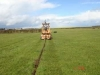 Mole plough, underground pipe installation