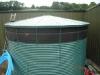Large water storage tank